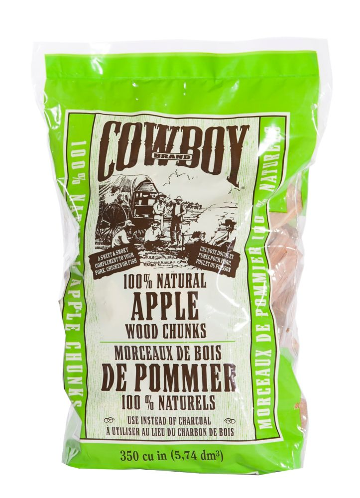 100% Natural Apple Wood Chunks