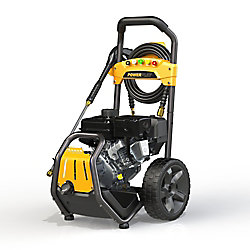 Powerplay Streetrod 2800 PSI 2.4 GPM Gas Professional Pressure Washer with 212cc Horizontal Engine and AR Axial Pump