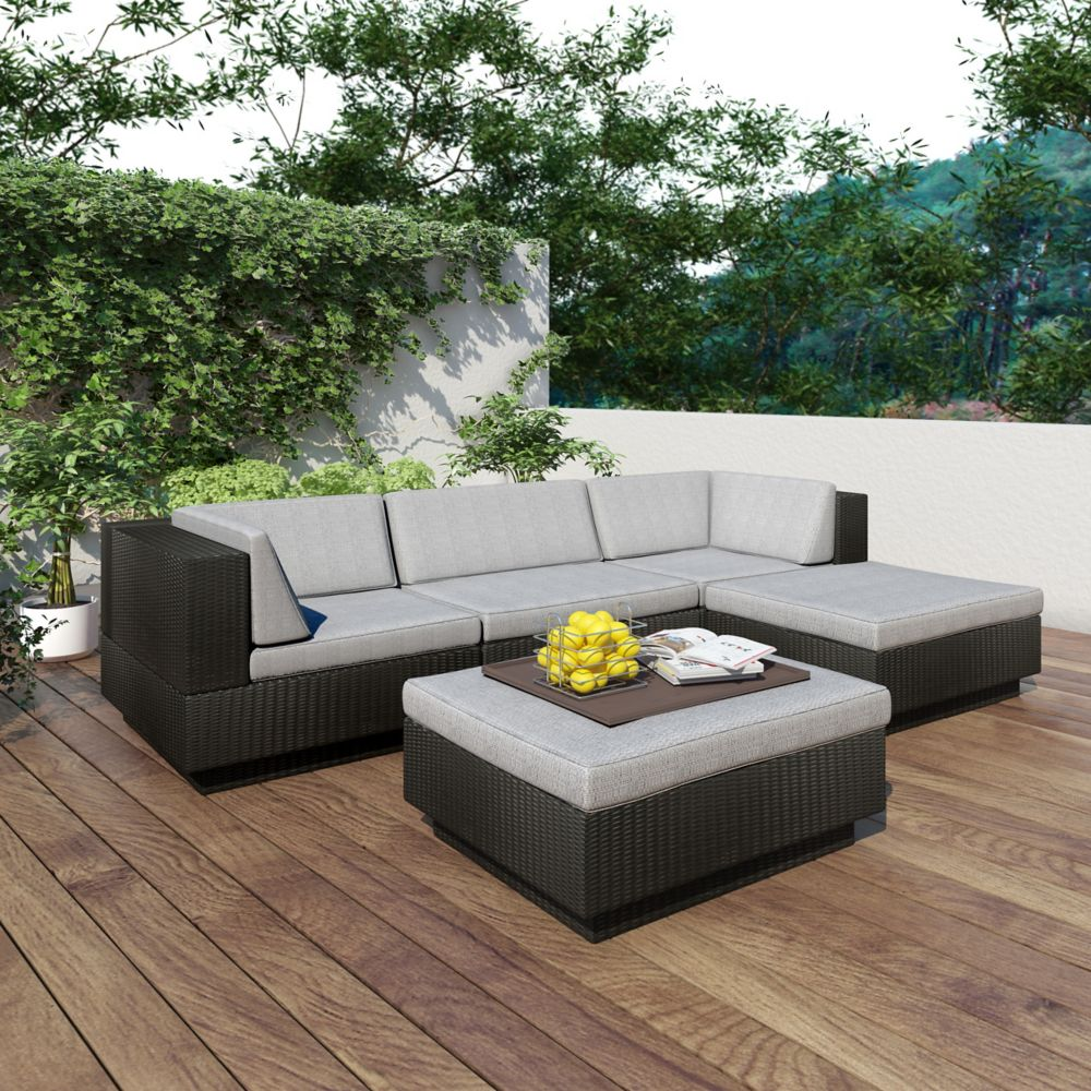 pcok outdoor patio l sectional rattan co wicker furniture
