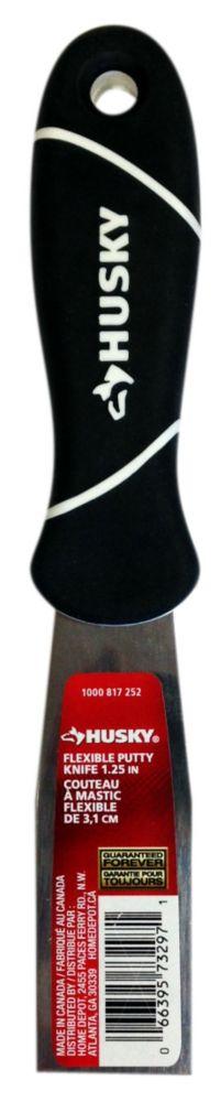 HUSKY 1 1/4 Inch Flex Putty Knife