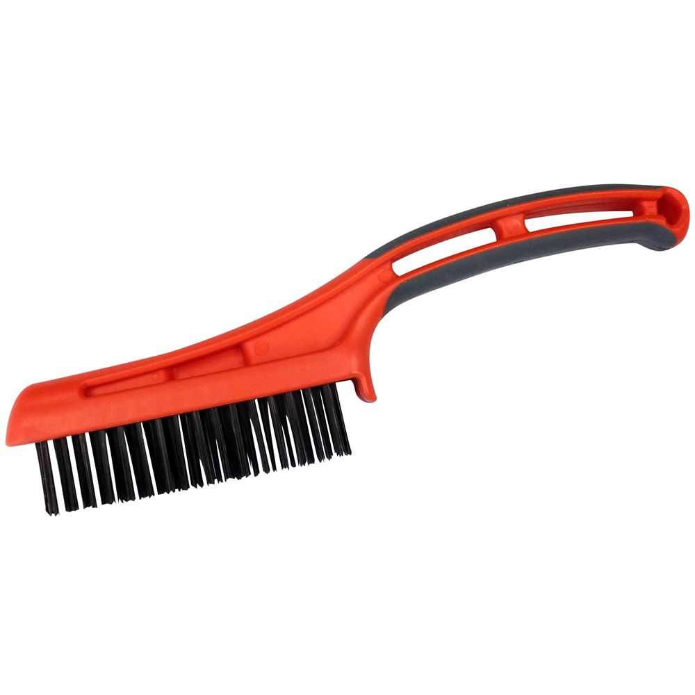 HDX WIRE BRUSH OVERMOLD HANDLE