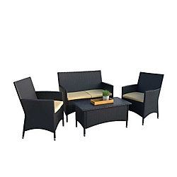 Sonax Cascade 4-Piece Patio Conversation Set