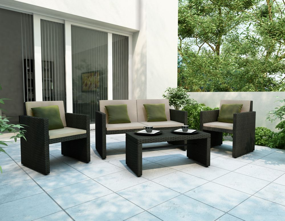 Creekside 4 Piece Patio Lounge Set Z 204 Rcp In Canada