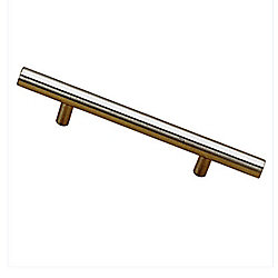Richelieu Contemporary Stainless Steel Pull 7 9/16 in (192 mm) CtoC - Washington Collection