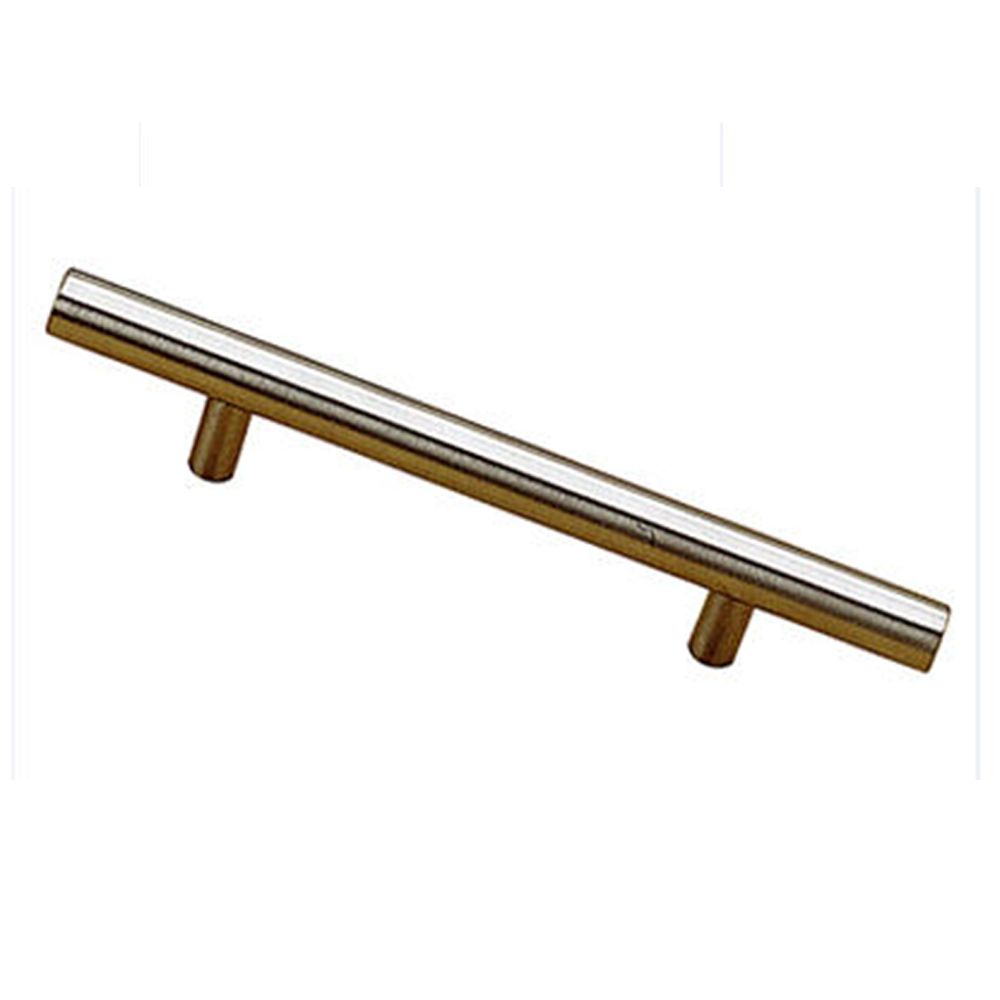 Contemporary Metal Pull - Stainless Steel - 128 Mm C. To C.