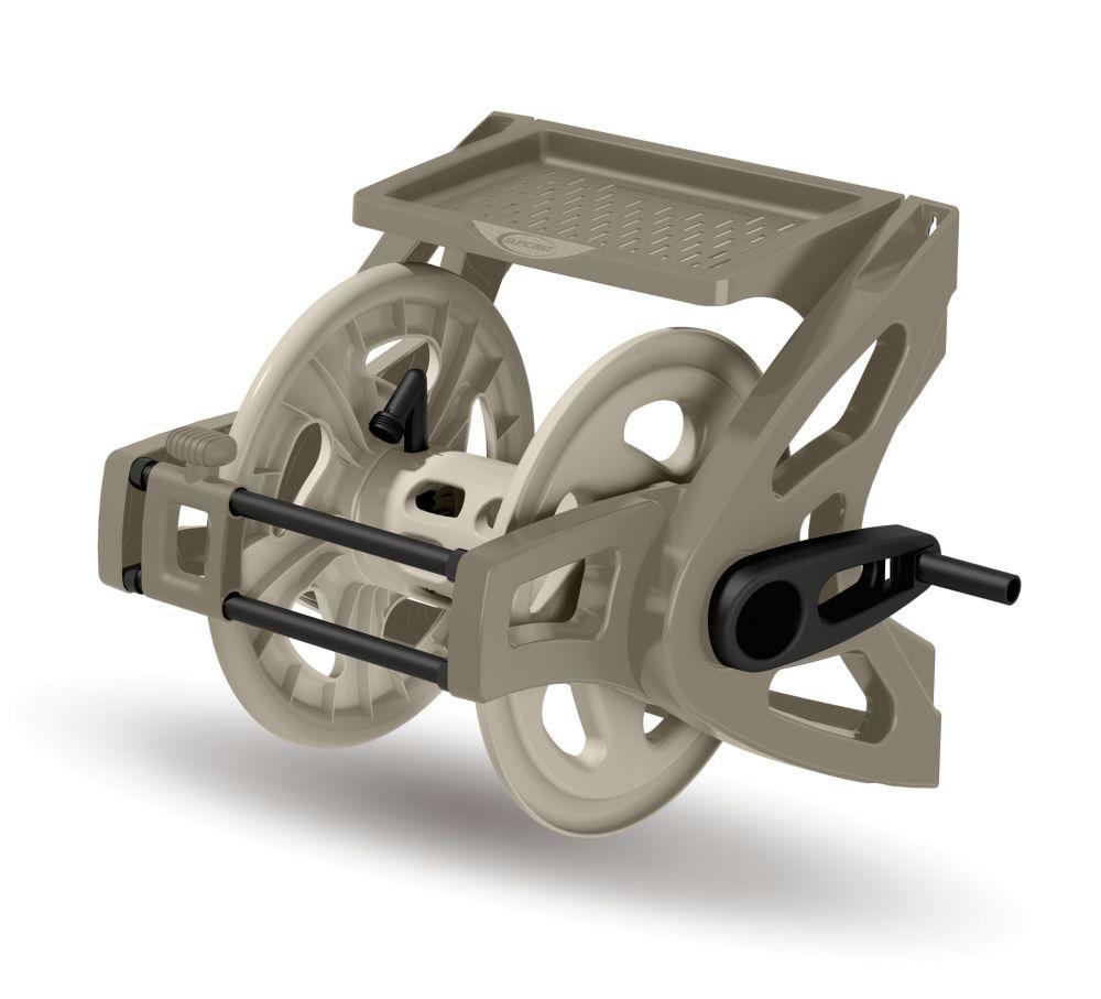 Slide Trak Hose Handler Hose Reel with 175 ft. Capacity