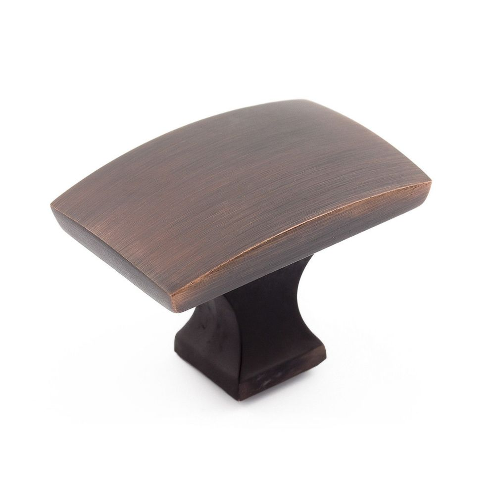 Transitional Metal Knob - Brushed Oil-Rubbed Bronze - 44 X 30 Mm Dia.