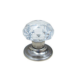Richelieu Eclectic Crystal Knob 1 25/32 in (45.5 mm) Dia - Fairview Collection
