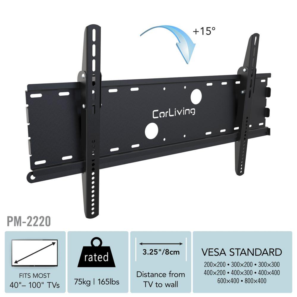 """PM-2220 TV Tilt Wall Mount for 32"""" - 90"""" TVs"""
