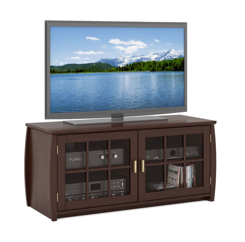 "WB-1489 Washington 48"" Wood Veneer TV / Component Bench WB-1489 Canada Discount"
