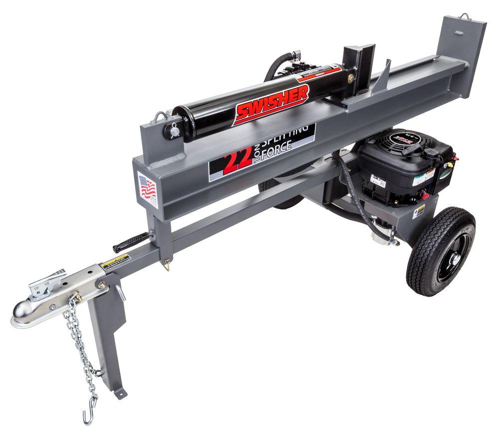 6.75 HP 22 Ton Log Splitter