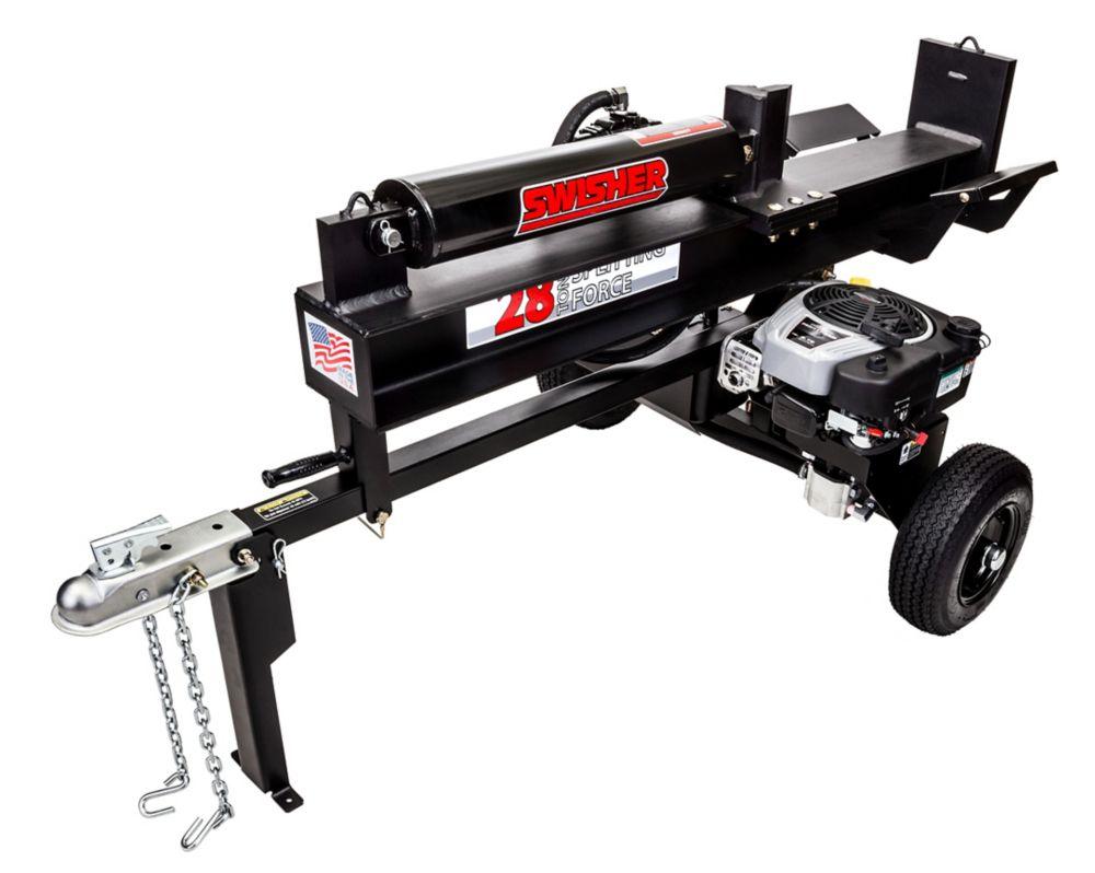 8.75 HP 28 Ton Log Splitter