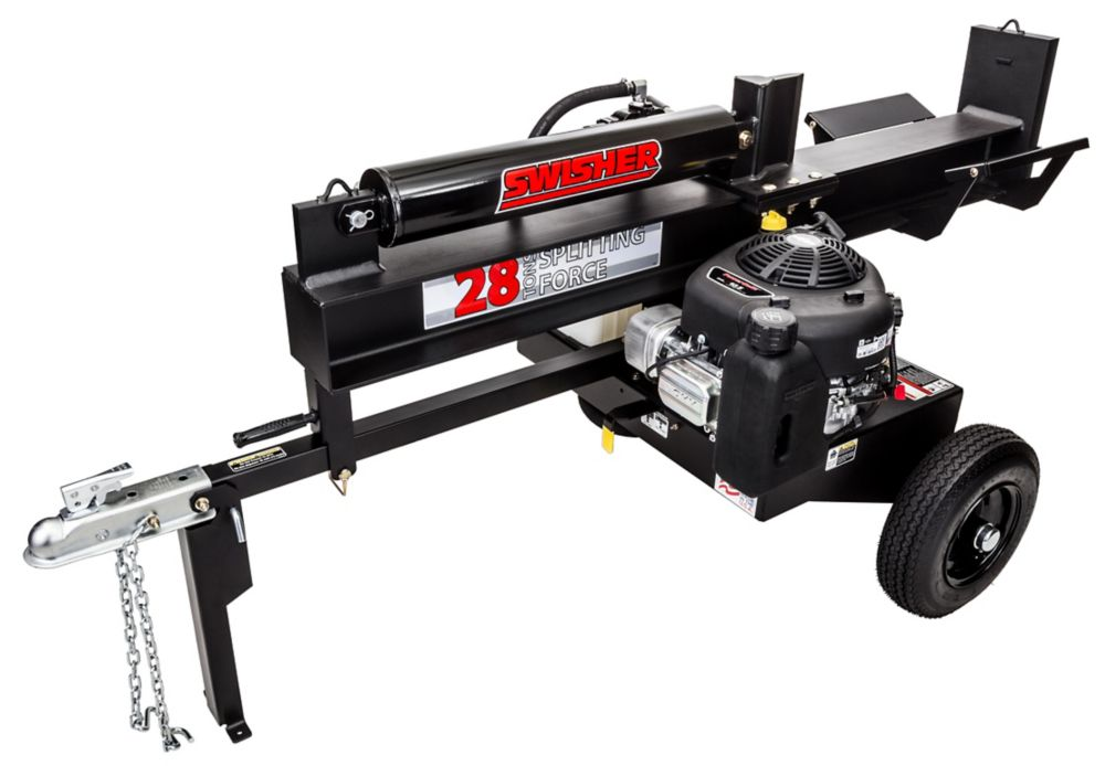 10.5 HP 28 Ton Log Splitter