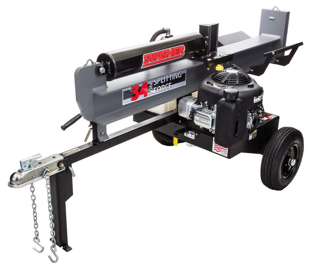 11.5 HP 34 Ton Log Splitter