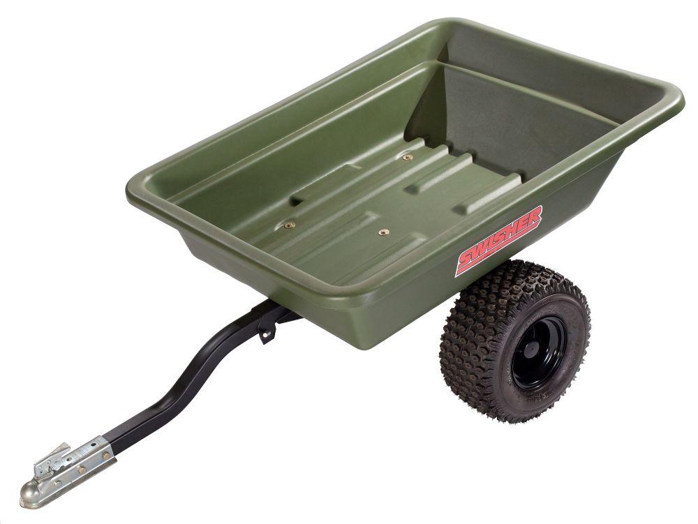 16 Cu. Ft Poly Dump Trailer. 750 Lb Capacity