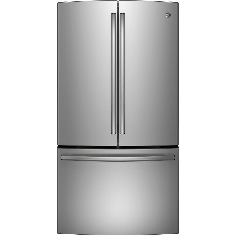 General Electric 28 5 Cu Ft French Door Refrigerator In