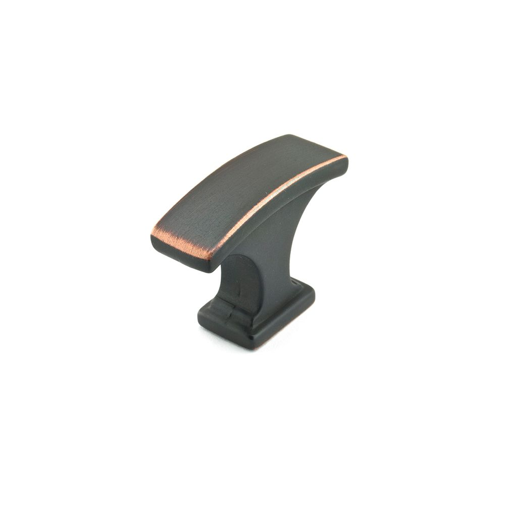 Transitional Metal Knob - Brushed Oil-Rubbed Bronze - 29 Mm Dia.