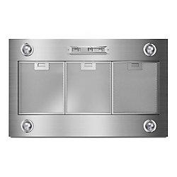 Whirlpool 36-inch Custom Range Hood Liner in Stainless Steel
