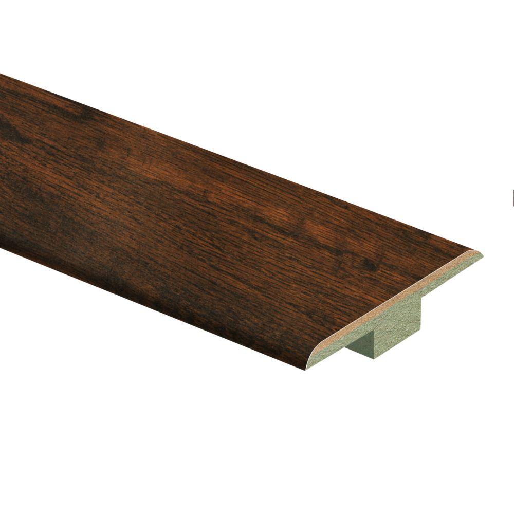 """Handscraped Oak 72"""" T Mold"""