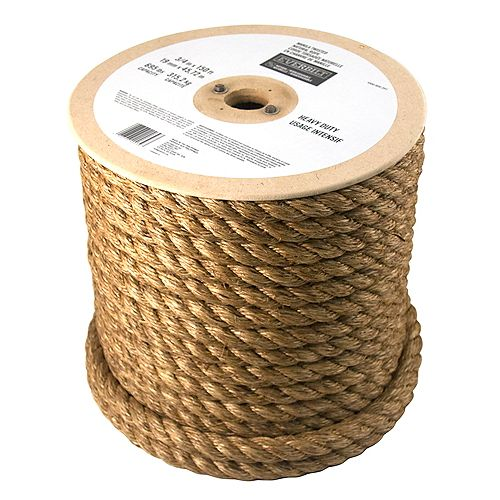 Everbilt 3/4-inch x 150 Feet MANILA TWISTED