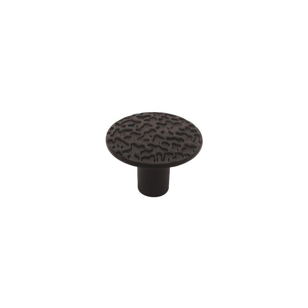 1-1/8  Hammercraft Round Knob, 1 per pkg