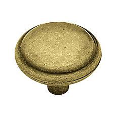 1-1/4  Domed Top Round Knob , 1 per pkg