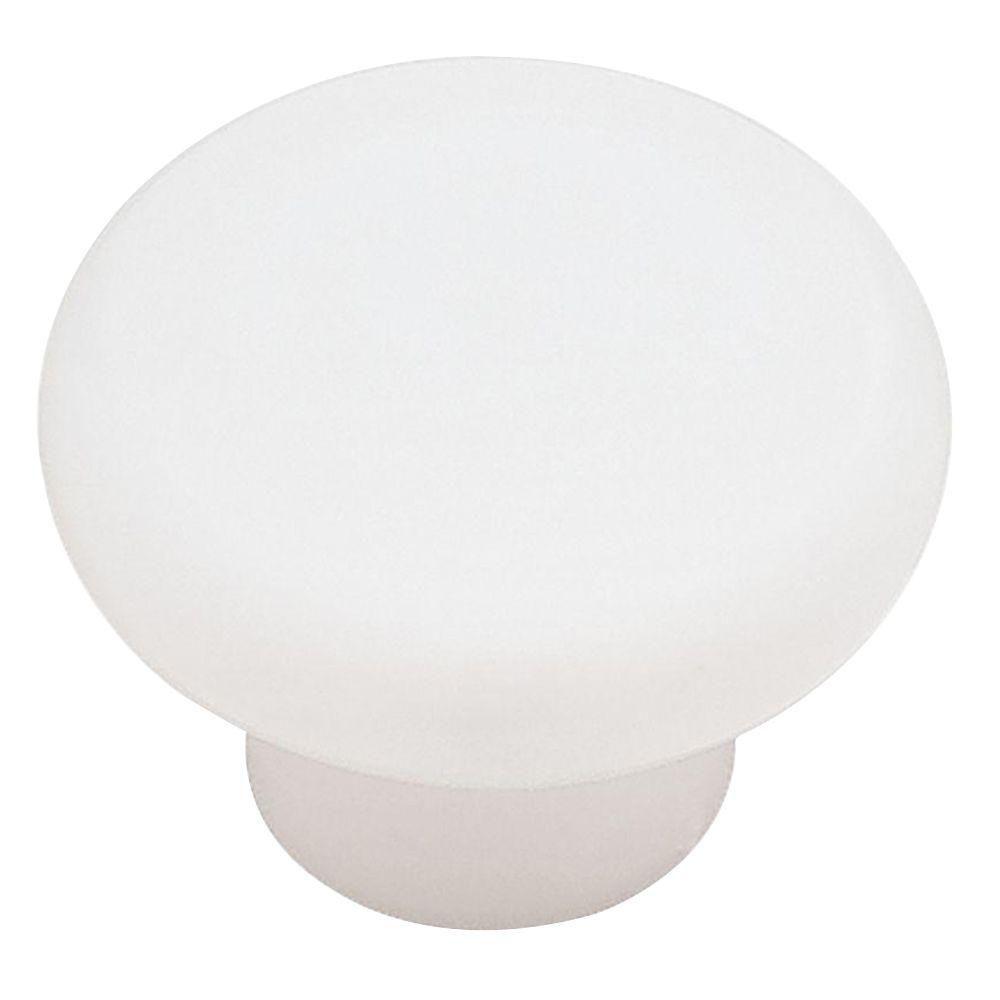 1-3/8  Plastic Round Knob, 1 per pkg
