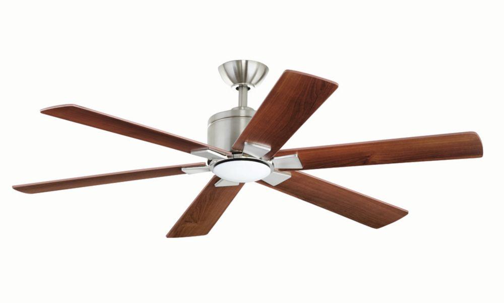 Ventilateur de plafond LED Renwick de 137 cm (54 po)
