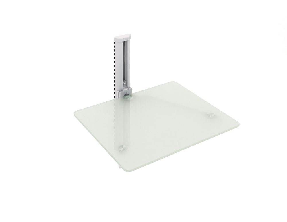 C-811-SCM Single Component Wall Shelf in White
