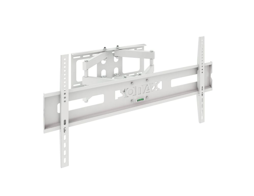 "M-011-MPM Full Motion Flat Panel White Wall Mount for 37"" - 70"" TVs"