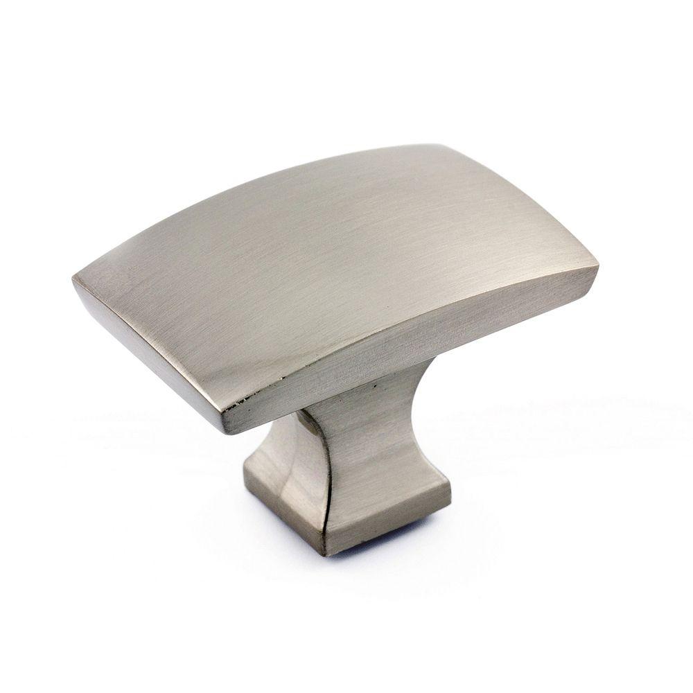 Transitional Metal Knob - Brushed Nickel - 44 Mm Dia.