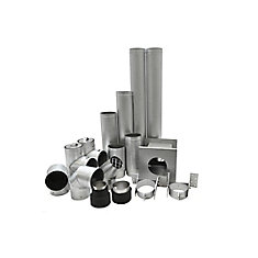 4-inch Pellet Vent Kit For Basement Installation