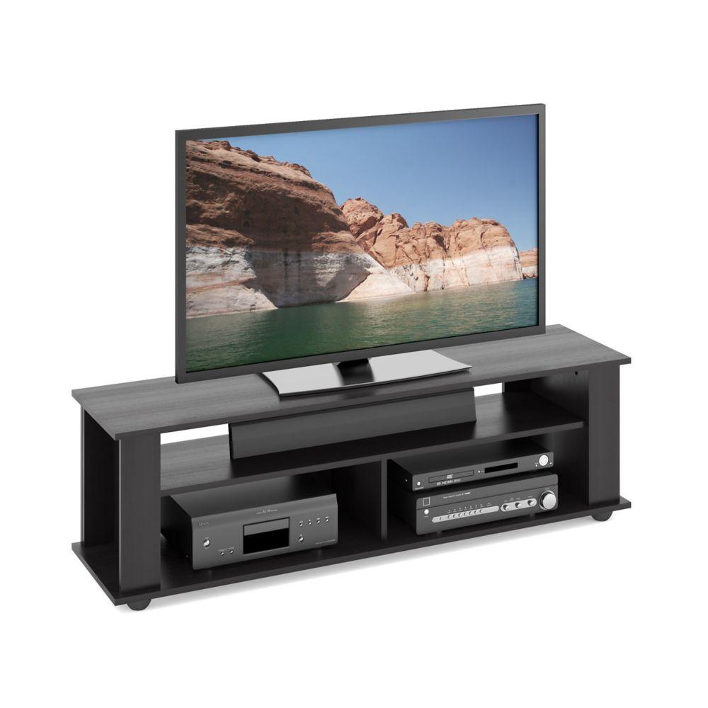 TBF-605-B Bakersfield Ravenwood Black TV/Component Stand