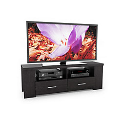 "Sonax B-101-RBT Bromley 60"" TV / Component Bench in Ravenwood Black"