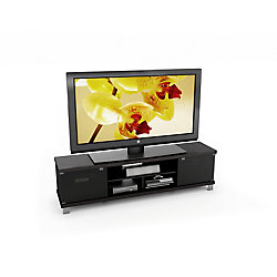 Sonax Holland 70.75-inch W Entertainment Centre in Ravenwood Black