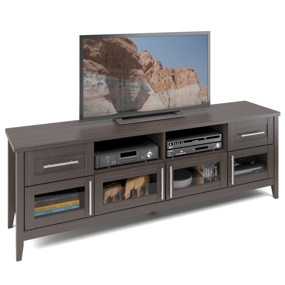 TJK-679-B Jackson Extra Wide TV Bench in Modern Wenge Finish TJK-679-B in Canada