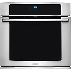 30-inch Electric Single Wall Oven with Wave-Touch Controls in Stainless steel