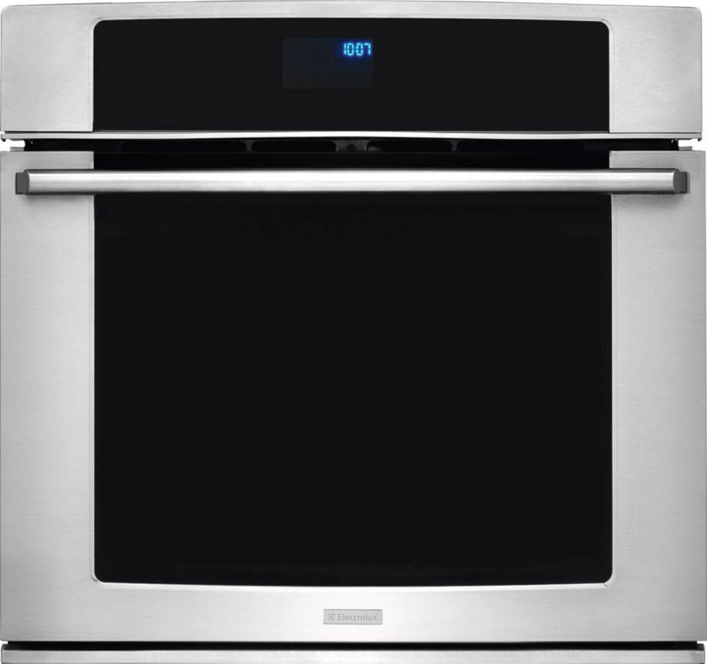 Electrolux 30-inch Electric Single Wall Oven with Wave-Touch Controls in Stainless steel