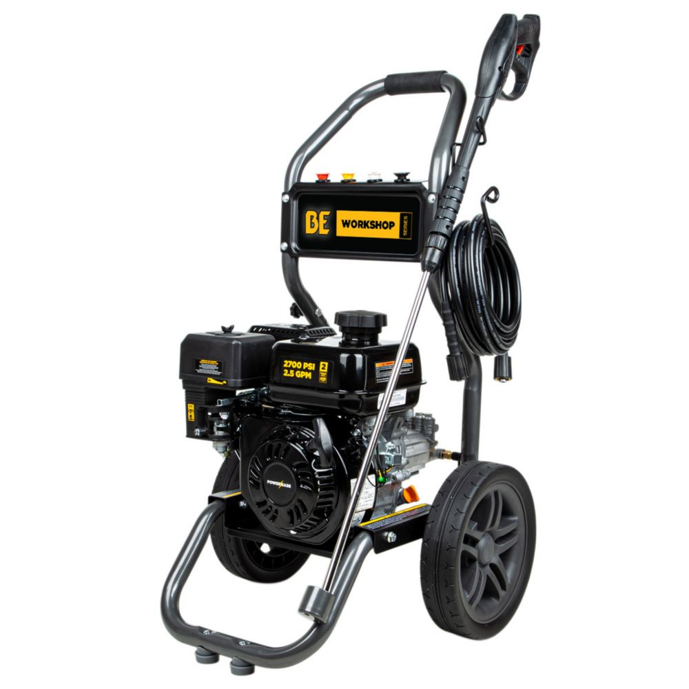 BE Pressure 2700 PSI 2.3 GPM Gas Pressure Washer