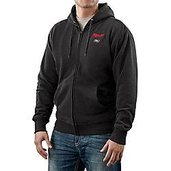 Milwaukee Tool M12 Cordless Black Heated Hoodie Only - 3X