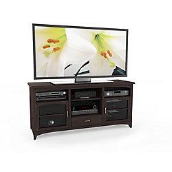 "Sonax B-094-PPT West Lake 60"" TV / Component Bench in Dark Espresso"