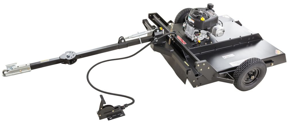 11.5 HP Tow Behind Trail cutter/Bush Hog with 44 inch  Cutting Deck