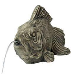 Angelo Décor Fish Spouting Statue