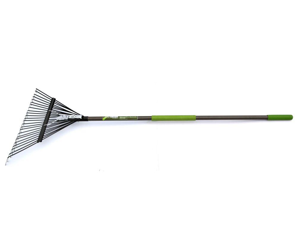 Fibre de verre Lawn Rake avec Grips