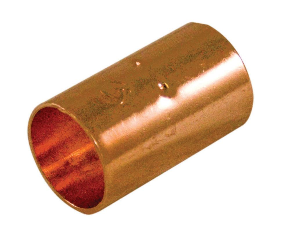 Fitting Copper Coupling 1/2 Inch (Pack of 25)