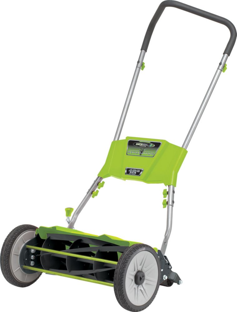 18-inch Quiet Cut Push Reel Mower
