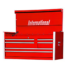 42 Inch Professional Series 6 Drawer Red Tool Chest