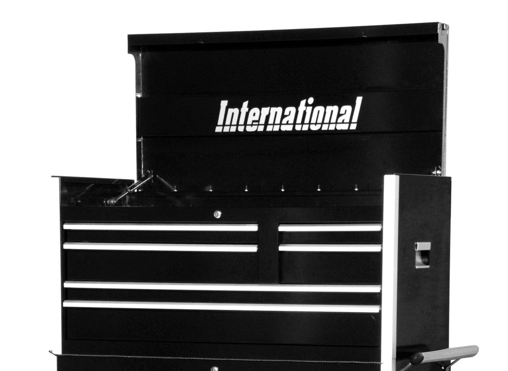 42 Inch Professional Series 6 Drawer Black Tool Chest