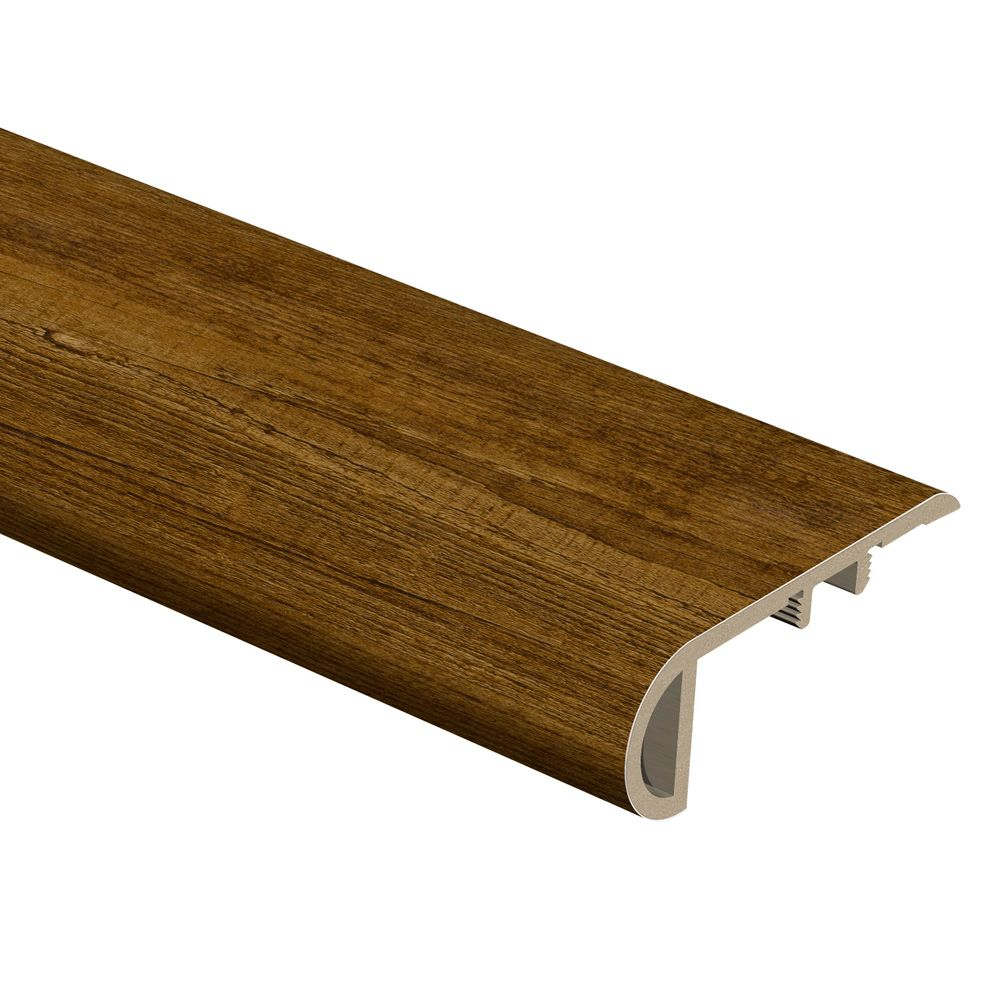 Zamma Hickory 94 Inch Stair Nose The Home Depot Canada