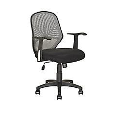 LOF 209 O Chaise De Bureau Noir